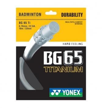 CƯỚC CẦU LÔNG YONEX BG65 TITANIUM